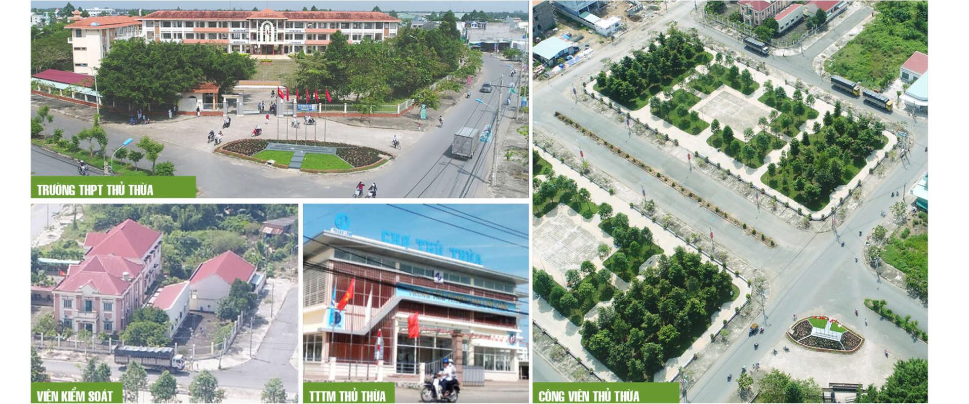 Dự án Thủ Thừa Phú Thanh Residence của Cát Tường ở đâu?