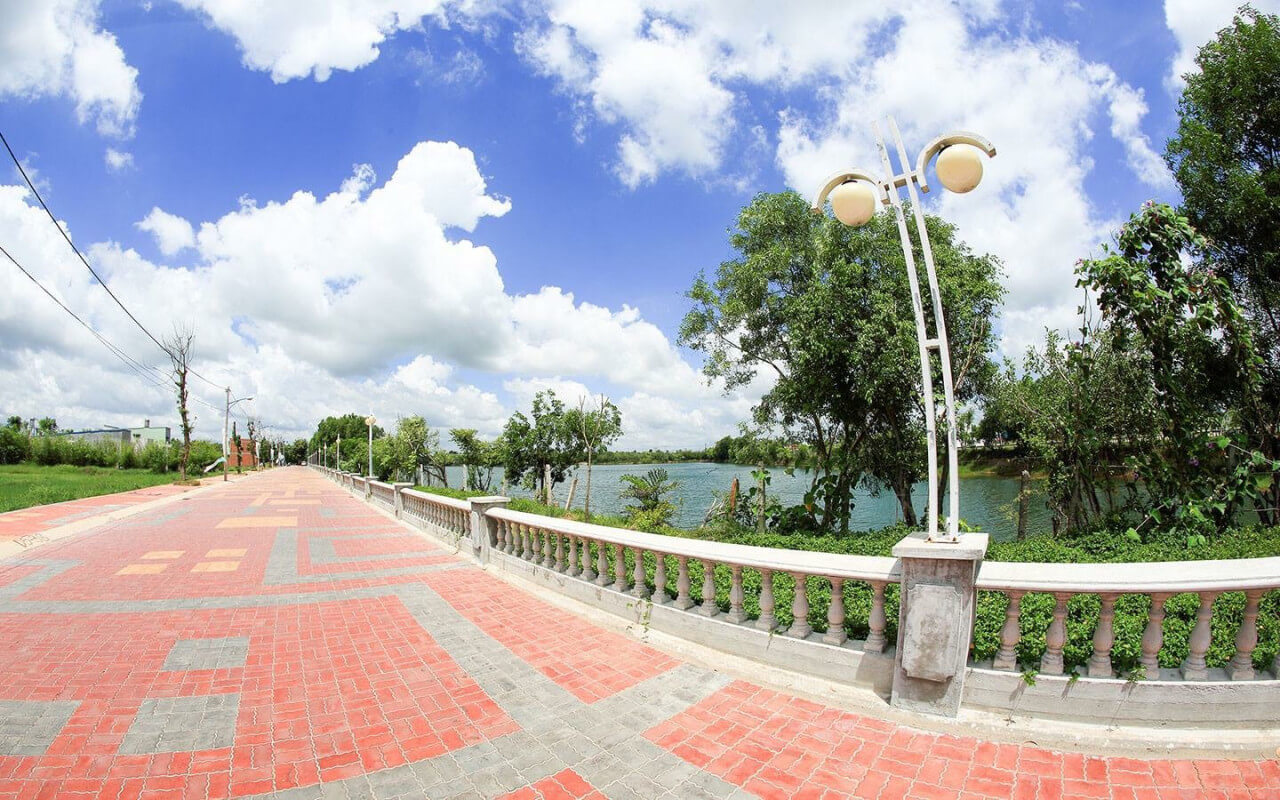 Phố đi bộ tại Cát Tường Phú Sinh