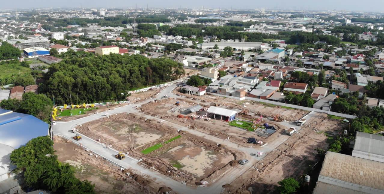 Toàn cảnh dự án Cát Tường Phú Bình