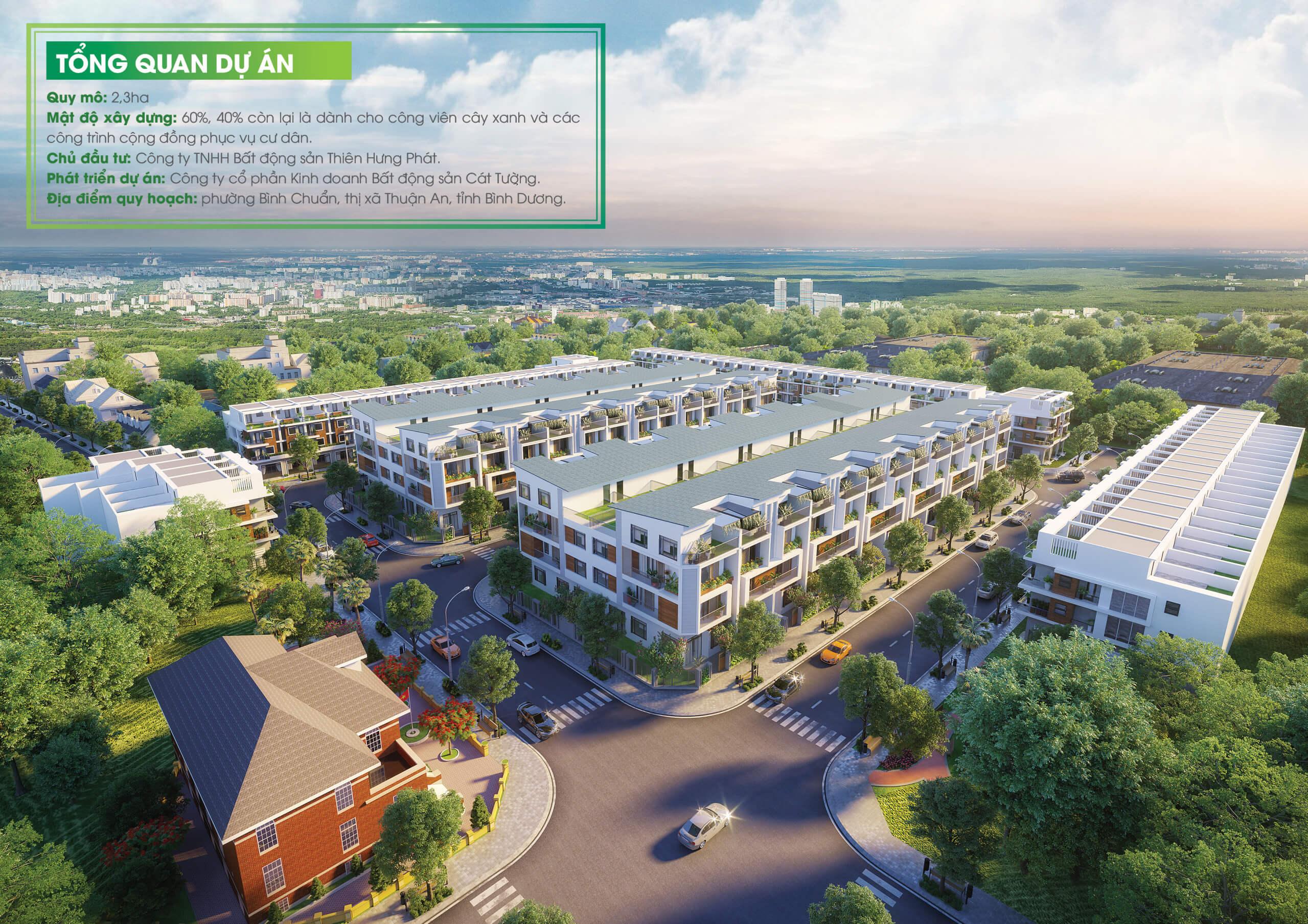 Tổng quan dự án Phố thương mại Cát Tường Phú Bình