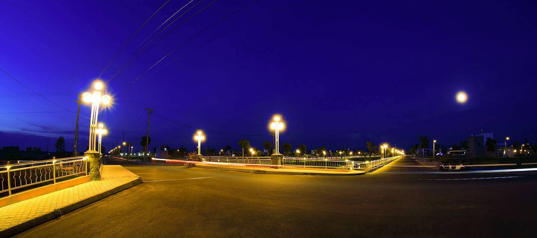 Cát Tường Phú Sinh Eco City về đêm