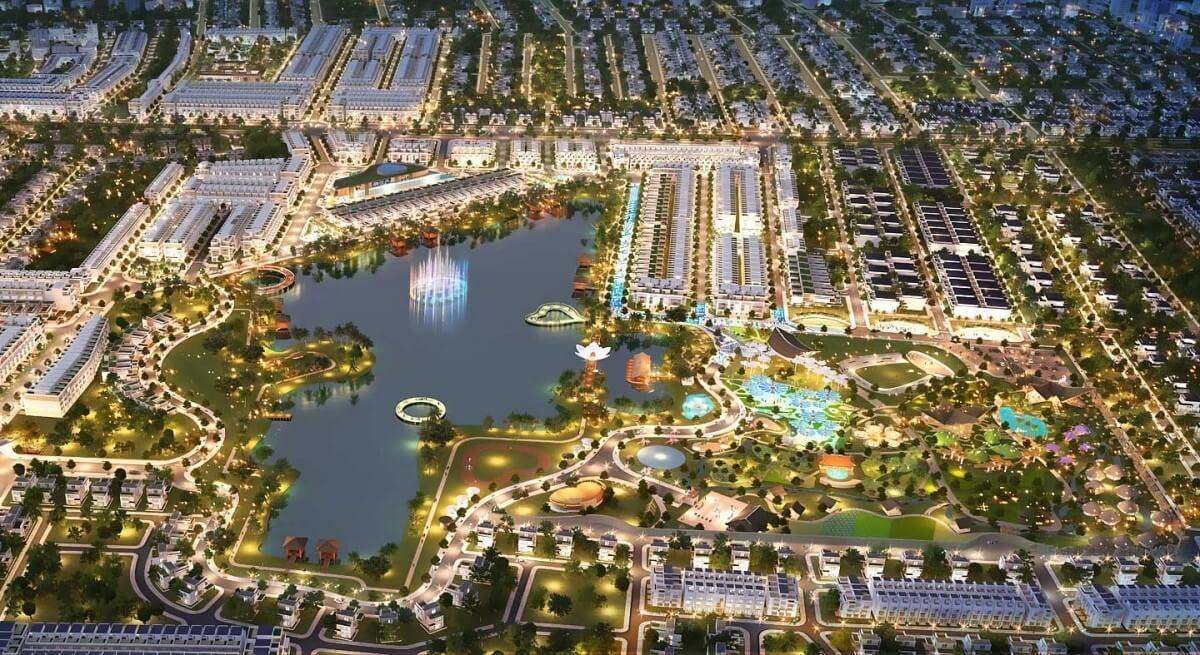 Tổng thể dự án Cát Tường Phú Sinh
