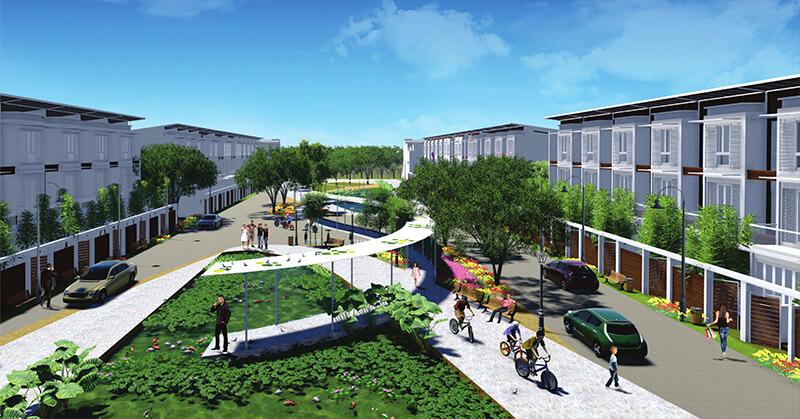 Nhà phố liên kế của Thành phố sinh thái 5 sao