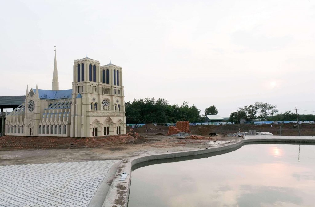 Nhà thờ Đức bà Pasri có mặt tại dự án Cát Tường Phú Hưng