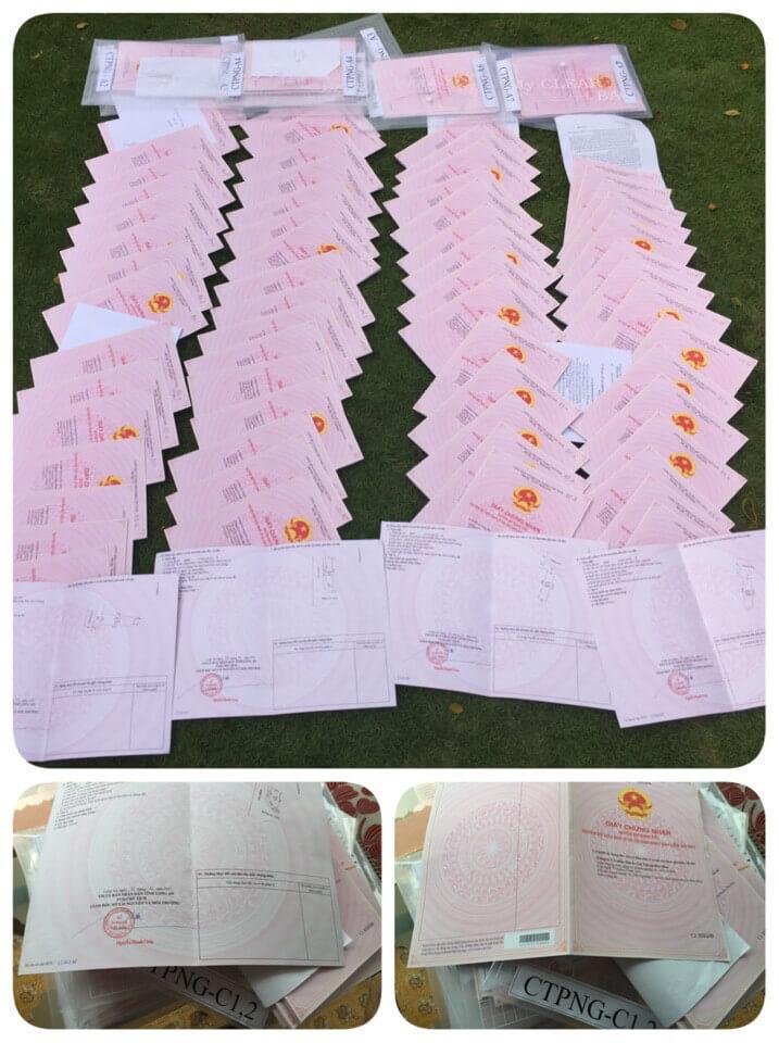 Tiến độ ra sổ dự án Cát Tường Phú Bình