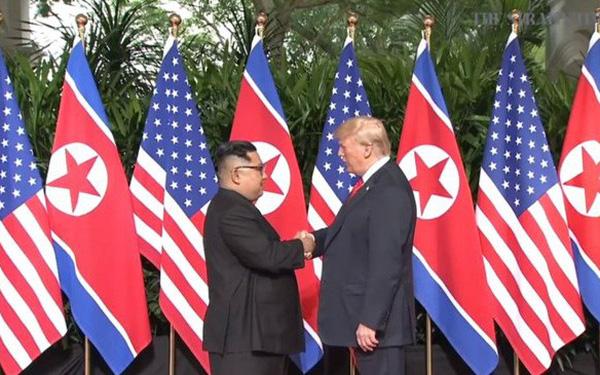 Cuộc gặp lịch sử Mỹ - Triều