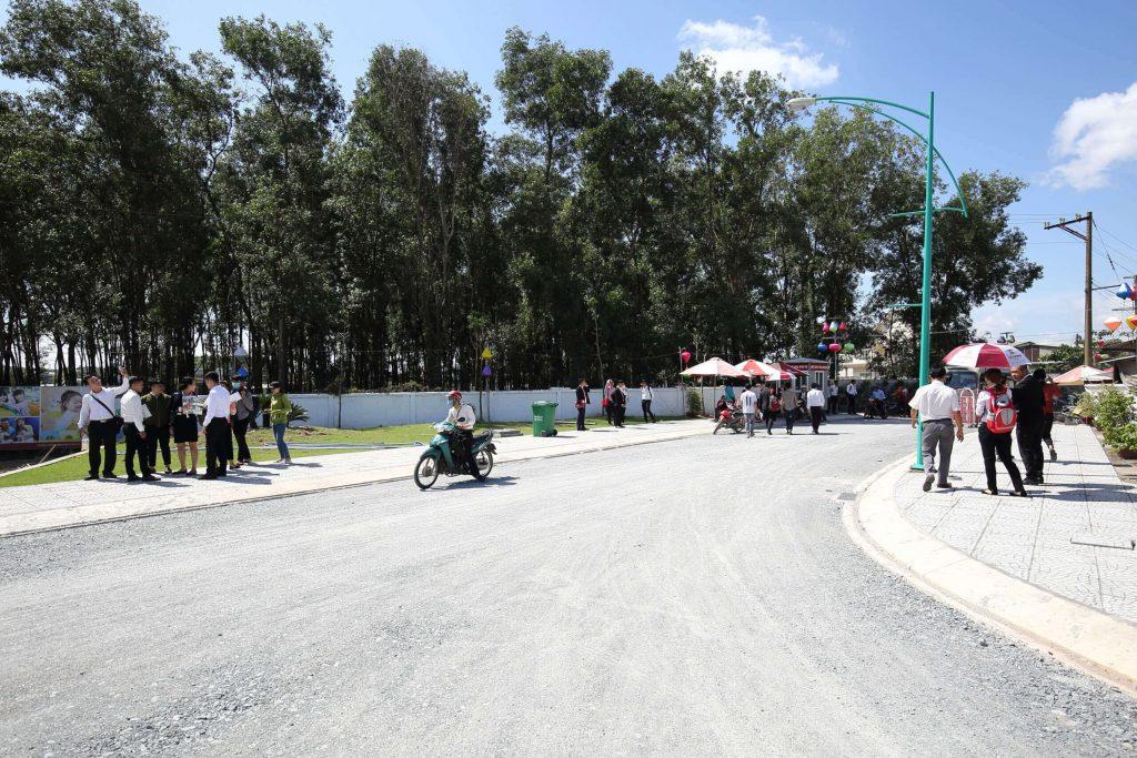 Cơ sở hạ tầng được Cát Tường Group triển khai bài bản tại Khu dân cư Thiên Phú - Bình Dương