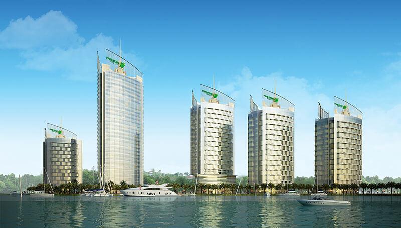 Trung tâm Thương mại của Thành phố sinh thái 5 sao